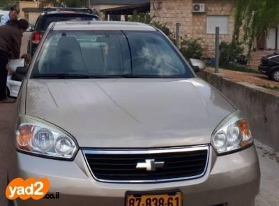 תוספת רכב שברולט שברולט מאליבו (2007) למכירה מודעה 7947541 - ad PO-01