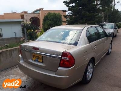 מותג חדש רכב שברולט שברולט מאליבו (2007) למכירה מודעה 7947541 - ad UX-85