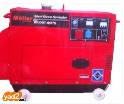 בנפט גנרטור דיזל מושתק 6500W כולל כלי עבודה גנרטורים יד שניה - ad HV-12