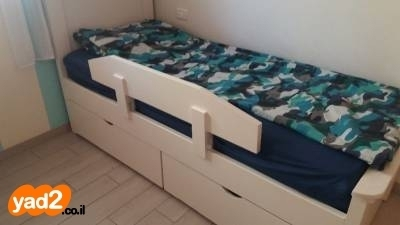 משהו רציני מעקה בטיחות למיטת ילדים חדש לתינוק ולילד מיטות ולולים יד שניה - ad KG-71