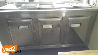 מעולה סלטיה- מקרר נירוסטה 3 דלתות ציוד לעסקים למסעדות/בתי קפה יד שניה - ad CG-84