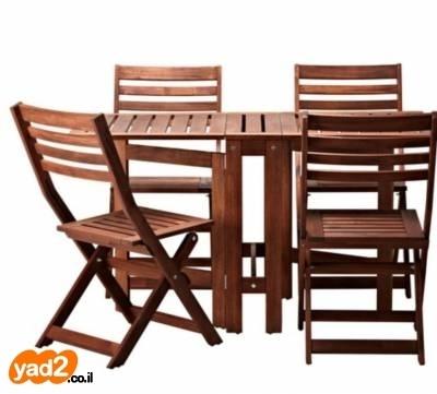 מגניב ביותר שולחן מעץ של איקאה נקנה לגינה ריהוט יד שניה - ad NM-26
