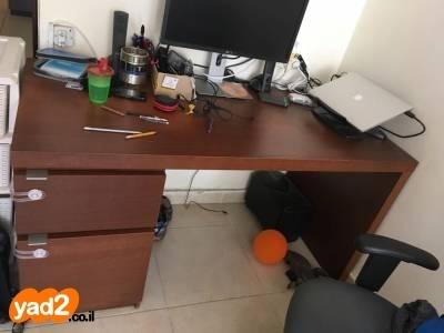 מצטיין שולחן עבודה של איקאה בצבע ריהוט משרדי יד שניה - ad JK-54