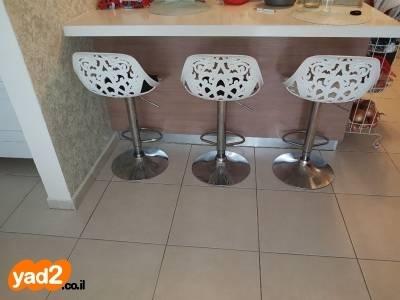 שונות 3 כסאות בר יפייפיים מיוחדים ריהוט יד שניה - ad OG-33