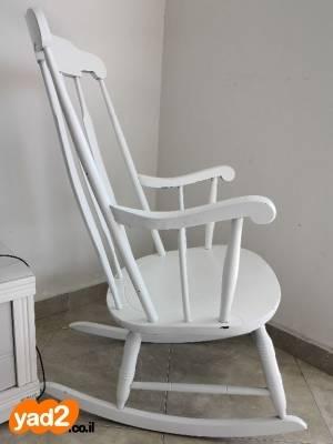 מעולה כסא נדנדה מעץ מלא ריהוט כיסא יד שניה - ad DQ-41