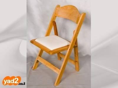 ניס 100 כסאות עץ מתקפלים לרציניים ציוד לעסקים ריהוט יד שניה - ad PM-26